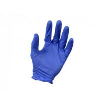 Starcke PA RN 100 STANDARD - NITRILE Disposable Gloves CE- Indigo- S[SNP-100 pcs/BNDL - Stk in Pcs](090636)-F